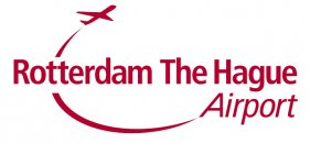 Rotterdam The Hague Airport logo