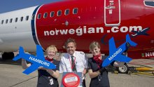 Inaugural Norwegian Flight HAM - MAD 04/06/2014