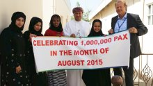 OAMC Team Celebrate Record August Traffic