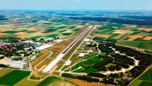 Memmingen Airport from above