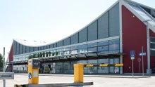 Terminal at Memmingen Airport