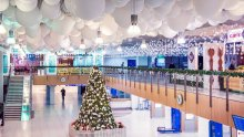 Winter wonderland at Chisinau Airport