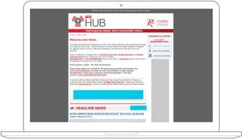 Hub event dailies sponsor graphic