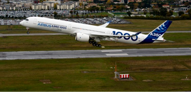 A350 - First Flight