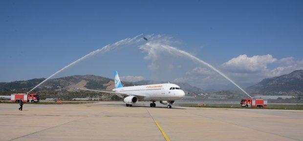 Gazipaşa Alanya Welcomes Tehran Passengers Of Freebird Airlines