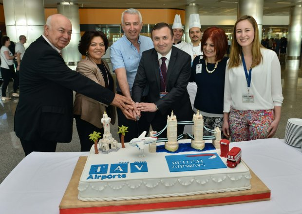 Izmir Adnan Menderes Airport welcomes London flights launched by British Airways