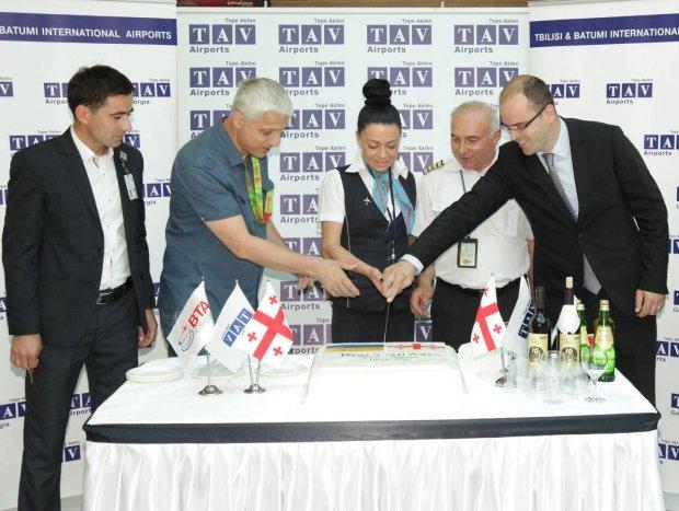 Batumi Airport welcomes Kiev flights of Bravo Airways