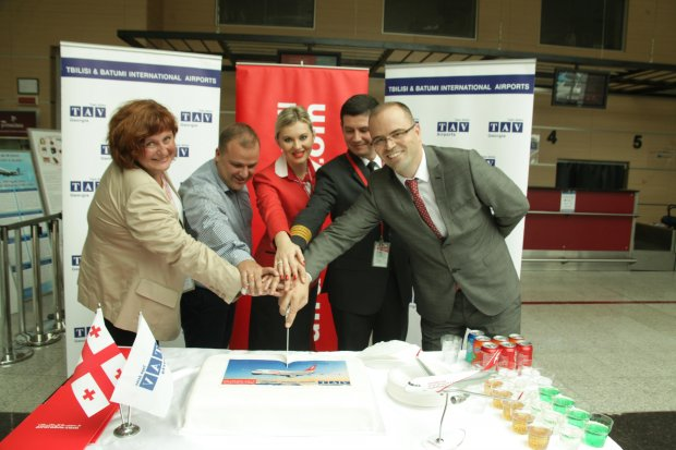 Batumi Airport starts to host Sharjah flights  of Air Arabia