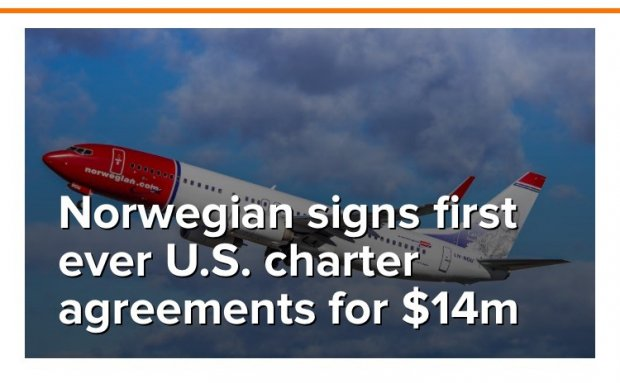 Norwegian Signs First Ever Us Charter Agreement Routesonline