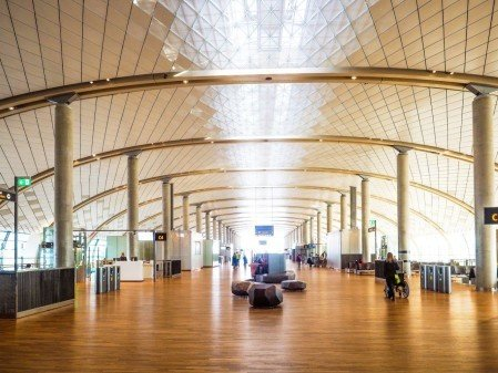Winner of the international prize for best airport design