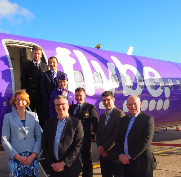 FLYBE'S WINTER SCHEDULE FROM LEEDS-BRADFORD TAKES OFF WITH DUSSELDORF INAUGURAL