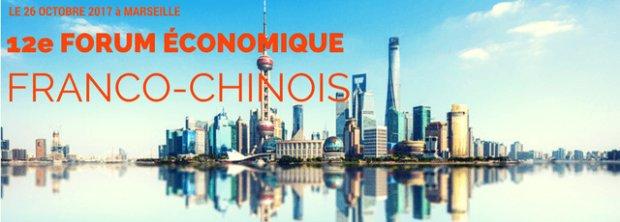 France-China economic forum in Marseille
