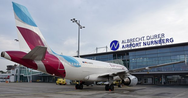 Eurowings opens its twelfth base in Nuremberg