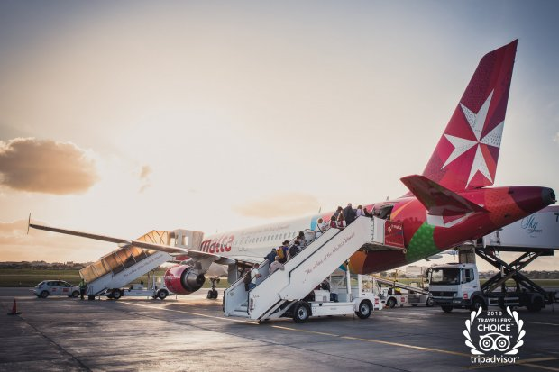 Air Malta wins 2018 Trip Advisor Travelers' Choice Awards for Airlines