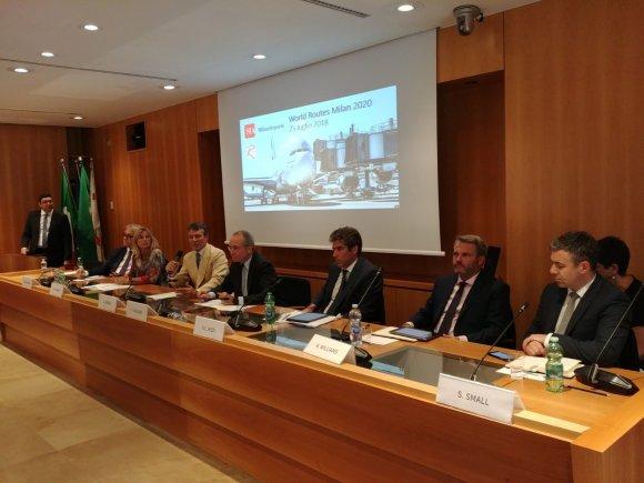 Αποτέλεσμα εικόνας για Milan to host World Routes 2020