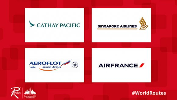 Cathay Pacific, Singapore Airlines, Aeroflot Russian ...
