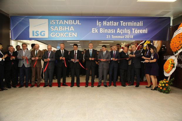 New Domestic Terminal Building at Istanbul Sabiha Gökçen International Airport to boost passenger capacity to 41 million