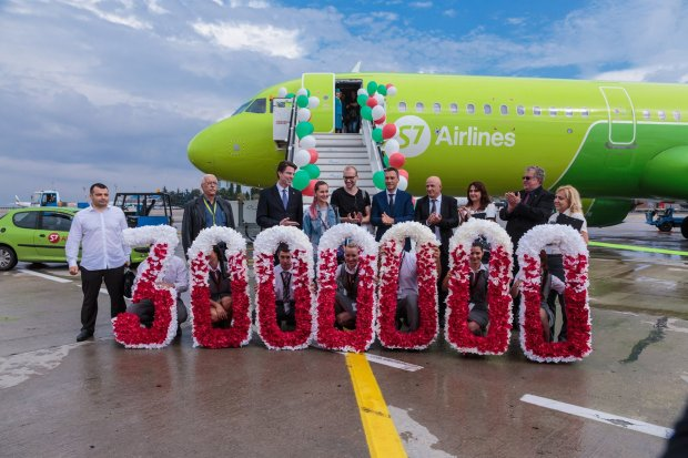 Burgas Airport Welcomes 3 Million for a First Time