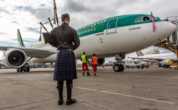 Port of Seattle Welcomes Aer Lingus Service to Dublin