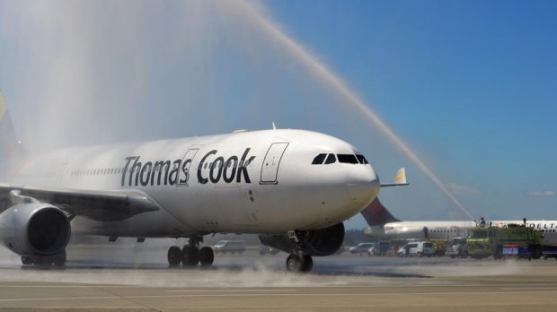 SEA Welcomes Thomas Cook Nonstop Service to Manchester