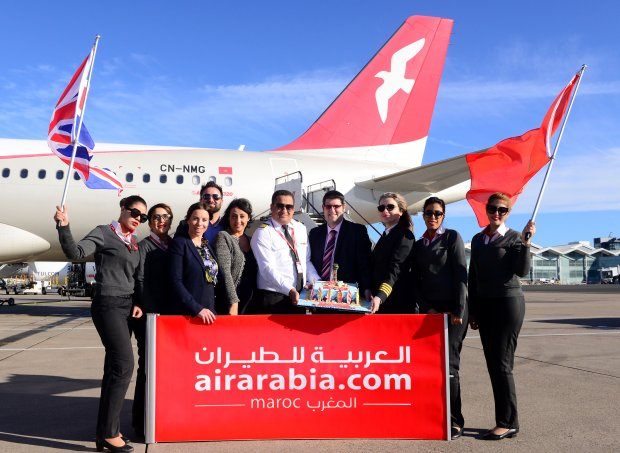 AIR ARABIA MAROC CELEBRATES FIRST EVER DIRECT SERVICE FROM BIRMINGHAM AIRPORT