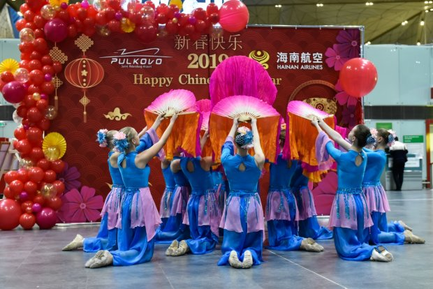 Pulkovo St. Petersburg Airport celebrates the Chinese New Year with Tea Ceremony and Martial Arts Performance