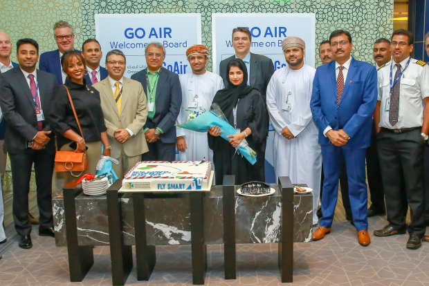 Muscat International Airport welcomes GOAir to it's growing Family!