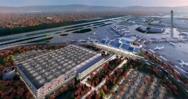 Design Concept for Terminal Modernization Program at Pittsburgh International Airport Revealed