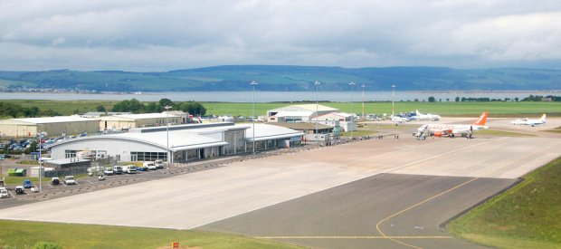 Inverness Airport continued to see a rise in passengers with an increase of 1.8 per cent