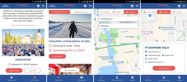 New Tampere.Finland application launched