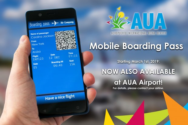 Mobile Boarding now also available for US bound flights