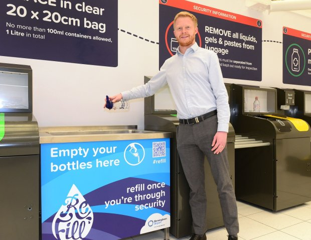 AIRPORT JOINS CAMPAIGN TO REDUCES PLASTIC WASTE