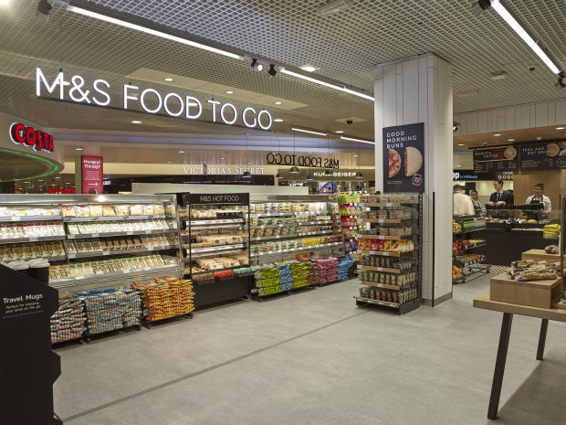SSP and Birmingham Airport open first airside M&S Food to Go