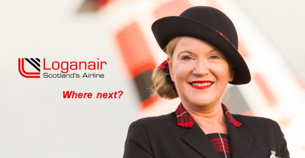 LOGANAIR LAUNCHES ROUTES BETWEEN EAST MIDLANDS, BRUSSELS AND INVERNESS