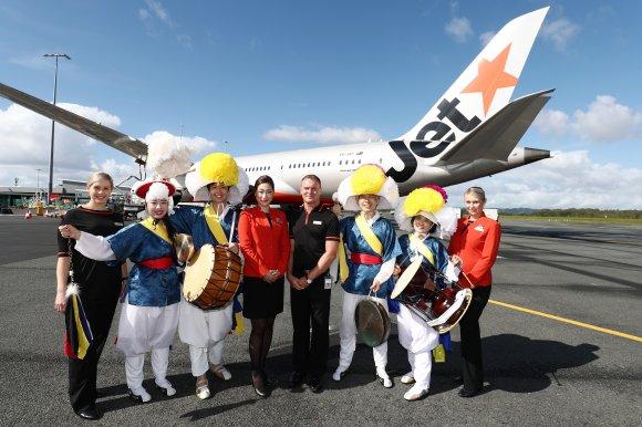 Jetstar enters underserved Australia - South Korea market