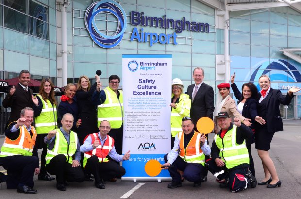 BIRMINGHAM AIRPORT TAKES PART IN AIRPORT SAFETY WEEK