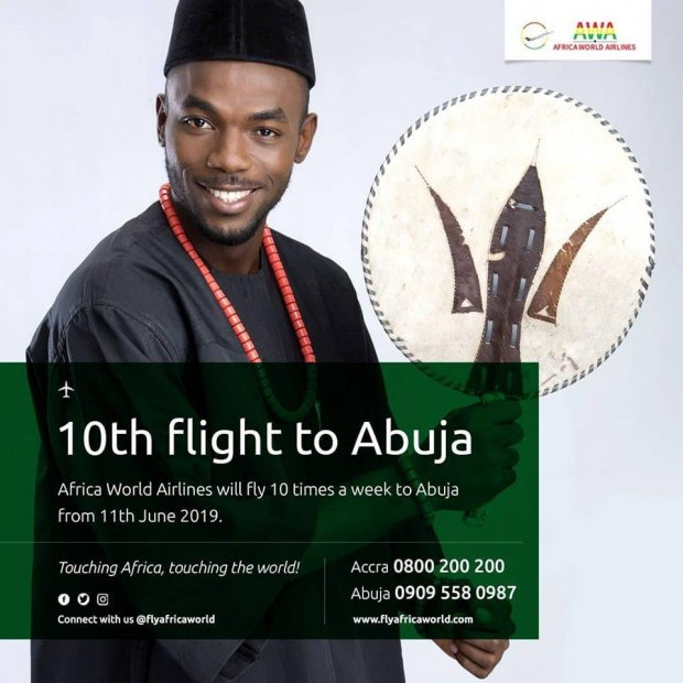 Africa World Airlines increases Abuja frequencies
