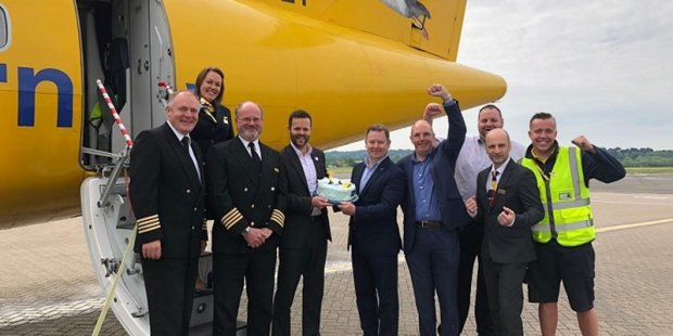 Cheers for new route from Southampton to Guernsey with Aurigny