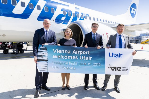 Utair Launches Second Flight Connection from Vienna: Direct Flight Service Offered to Ufa in Bashkortostan (RU)