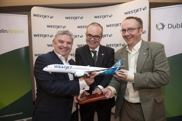 WestJet Launches New Dublin-Calgary Service