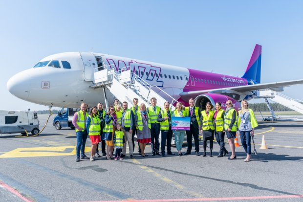 Wizz Air commences new route from Palanga to Dortmund in Germany