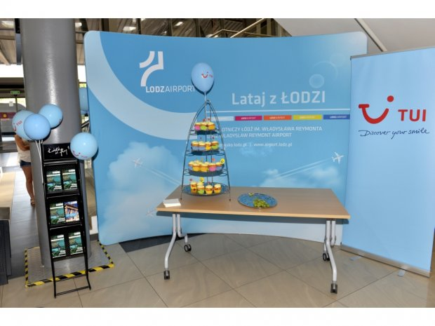 Lodz Airport begins cooperation with the TUI Travel Office.