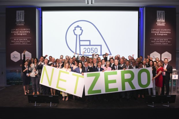 Hermes Airports commits to achieve net zero emissions by 2050