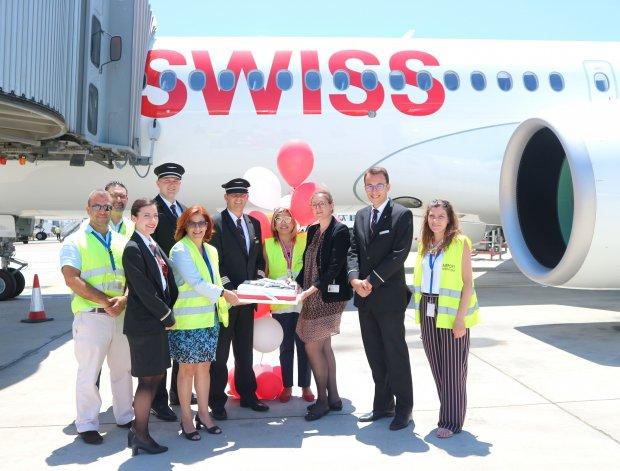 Launch of SWISS flights from Geneva to Larnaka