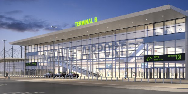 Expansion and reconstruction of the Katowice Airport passenger terminal B