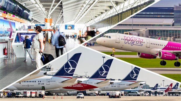 Warsaw Chopin Airport: almost 2 mln passengers in August