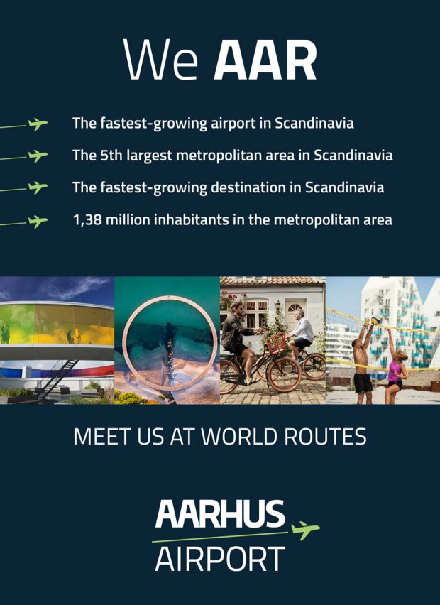 Aarhus Airport : See you at World Routes!