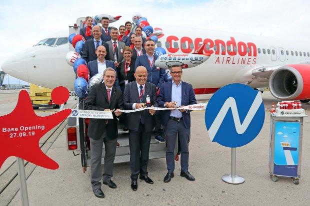 Corendon opens base at NUE