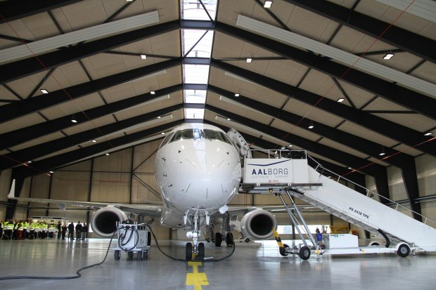 New Aircraft Hangar Inaugurated at Aalborg Airport