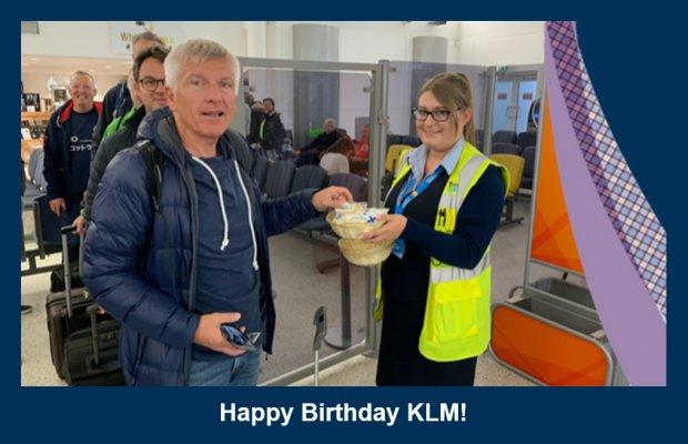 Inverness Airport Celebrates KLM's 100th Birthday